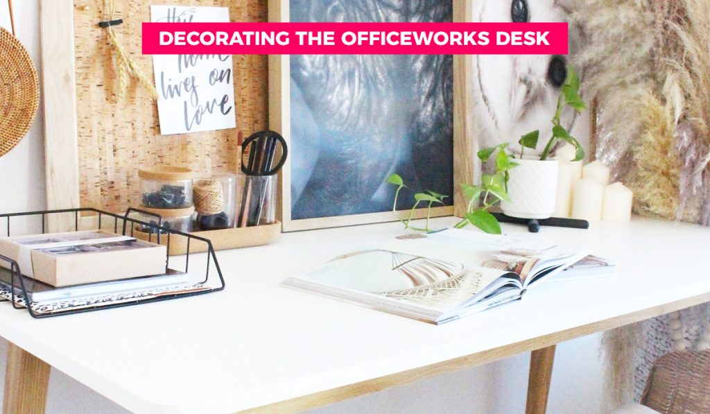 officeworks desk